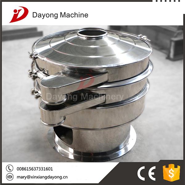 dayong vibrating screen solid liquid separation equipment