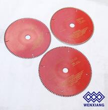 High Resistant Tungsten Tip Saw Blades for aluminul cutting saw blade