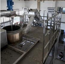 Производственное оборудование мокрой желатиновой вермишели картофеля