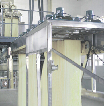 Полноавтоматическая линия производства прямой полосы рисовой желатиновой вермишели RV3