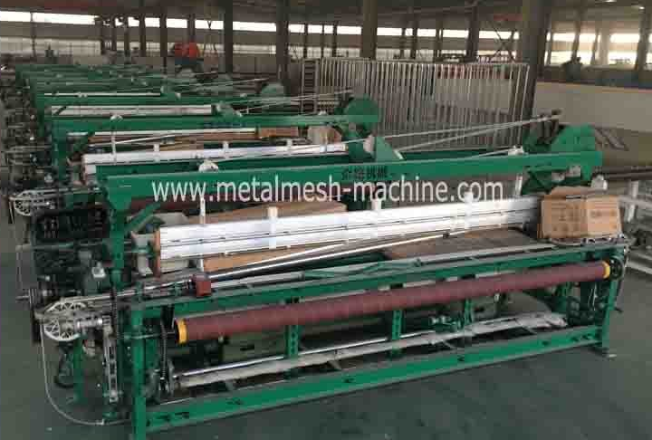 plastic window screen mesh machine