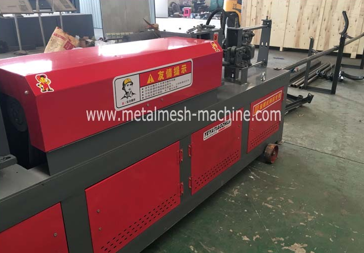 jinlu new straighter and cutting wire machine