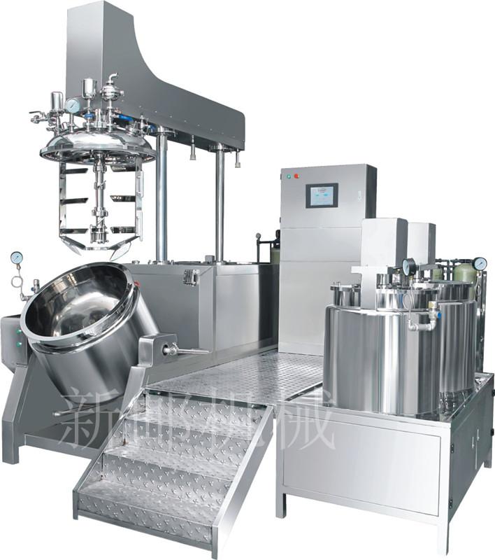 XY-BII可倾式双向搅拌乳化机