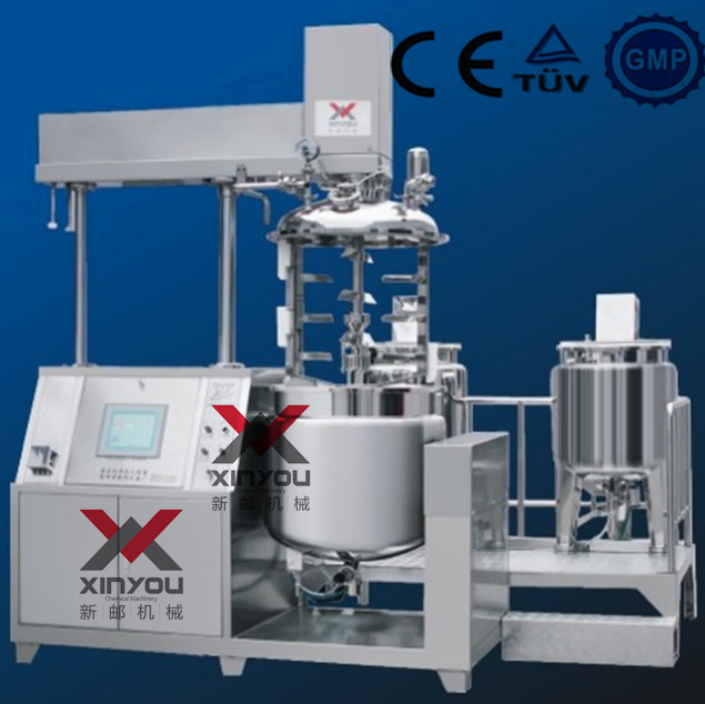 XY-B-100L Hydraulic type vacuum emulsifier