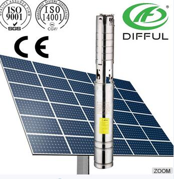 rechargeable battery water pump solar water pump system