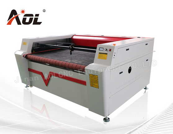Auto Feeding Fabric Leather Laser Cutting Machine