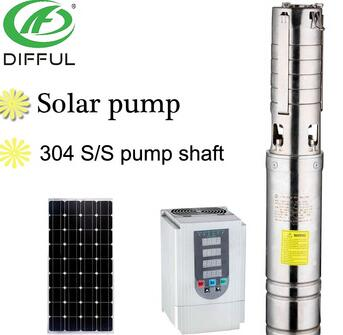 solar water pump irrigation solar submersible water pump