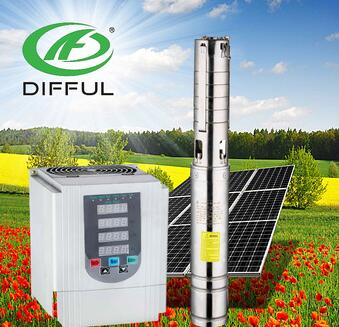 solar water pump irrigation solar submersible water pump