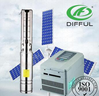 solar water pump for agriculture big dc solar pump