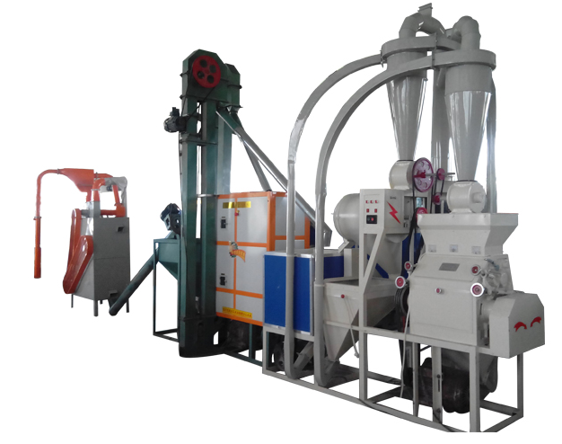Full automatic maize grinding mill for Africa