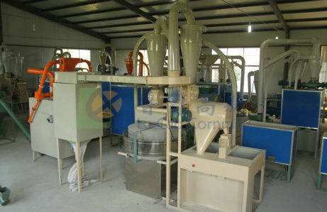 New fully auto stone flour milling machine