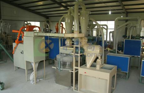 New fully auto stone flour milling machine