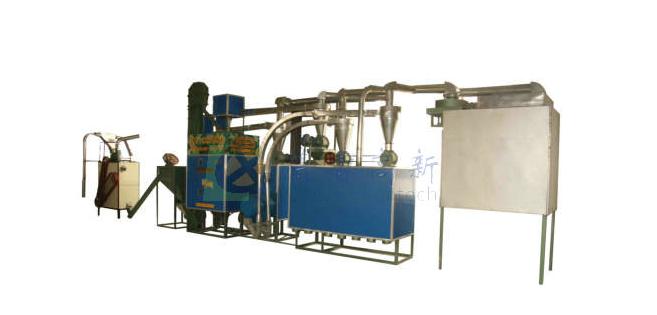 6FW-24 日产24吨玉米脱皮制糁机组