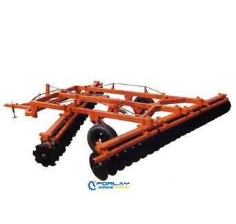 1BJ wing-folded hydraulic offset medium disc harrow