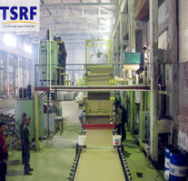 High-quality gypsum board production line