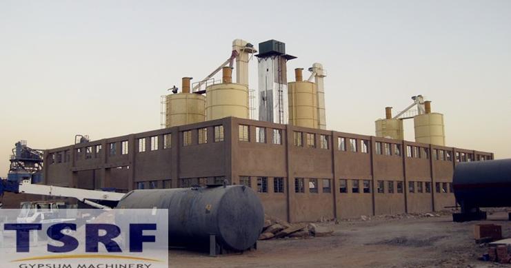 China gypsum powder production line
