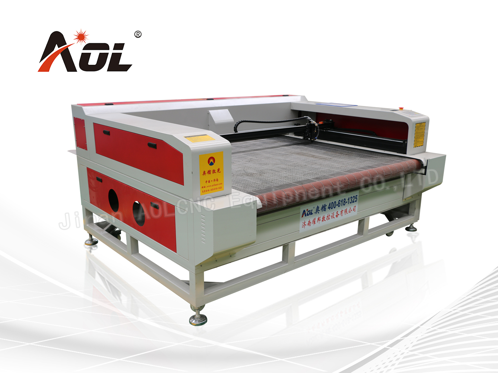 CCD Camera auto feeding laser cutting machine