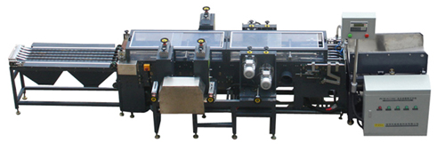 AUTOMATIC PLATE SLITTING AND FOUR SIDES FRAME BRUSHING MACHINE MAIN TECHNICAL PARAMETER