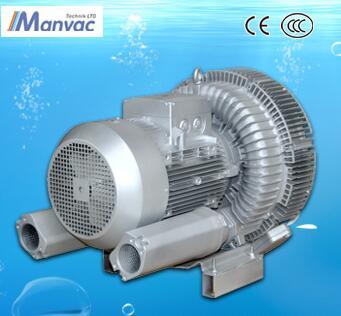 Aluminium Alloy High Pressure double stage vacuum vortex blower pump