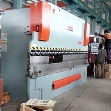 BOHAI brand hydraulic sheet bending machine with E200 OOR ENC800 CNC controller
