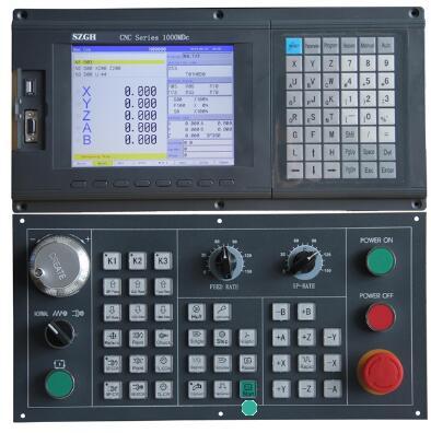 SZGH-CNC1000MDc 5轴铣床CNC控制器