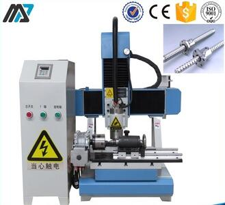 ball screw hand mini portable wood router with rotary axis