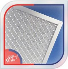 Industrial Hepa Synthetic Fiber Pleated Auto Panel Air Filter