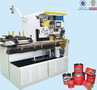 Automatic metal food can line