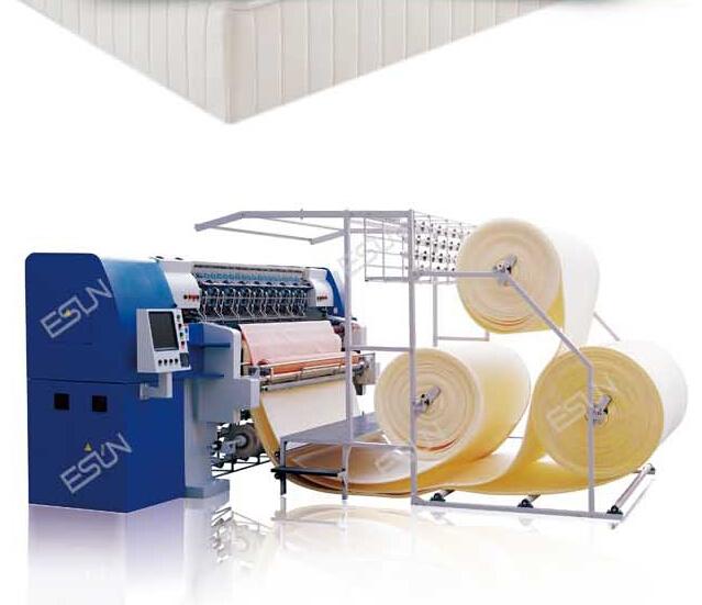 ESQ-94C-2500 Newest High Speed Computerized Multi-needle Chain Stitch Quilting Machine