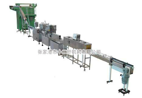 2000-8000 cans/hour gas-containing pop can production line