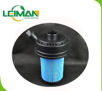 119300 High quality pleated filter, compressor air filter, air filter cartridge for Truck
