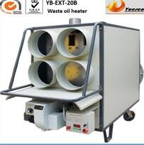 waste oil air heater for greenhouse and poultry farm