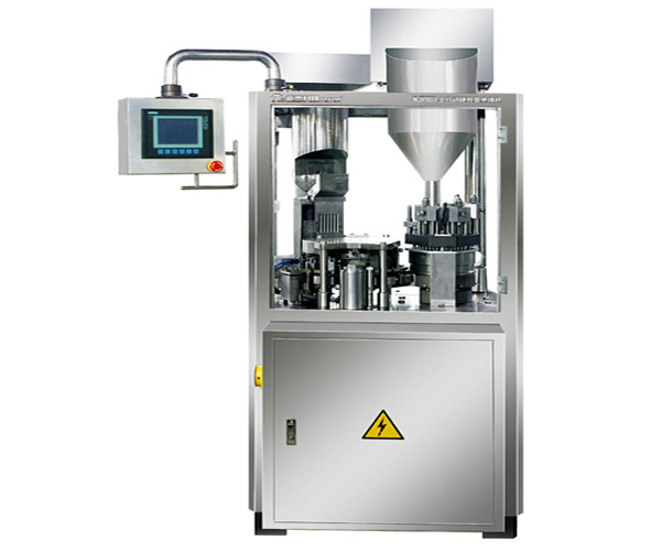 Полноавтоматическая наполнительная машина для твердых капсул NJP800