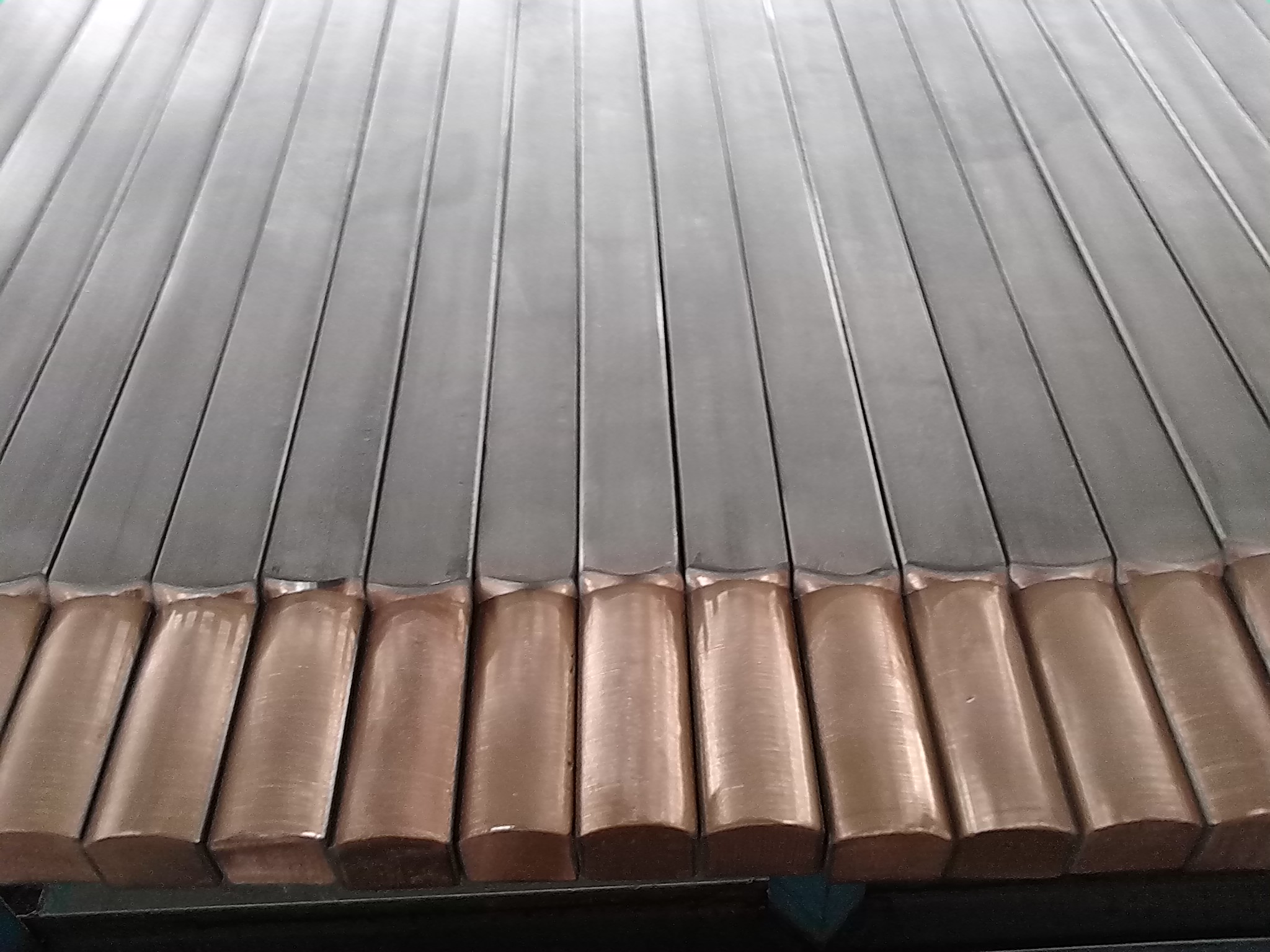 titanium coaded copper rod bar