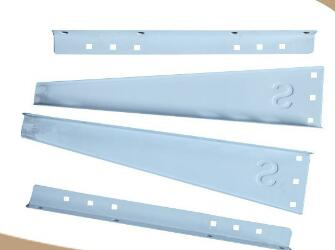 Model HN-2 Air Conditioner Side Brackets with Self-locking Structure