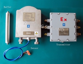 Compressed natural gas mass flow meter