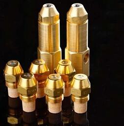 Boiler auxiliary nozzle, Atomizing oil burner nozzle