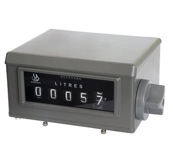 positive displacement flow meter counter