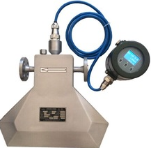 coriolis Mass flow meter for heavy oil
