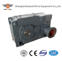 HB series helical bevel reduction gear box speed reducers for tunnel kiln Heavy duty helical gearbox Parallel Shaft Helical Bev