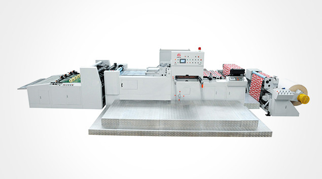 PRY-1100MP AUTOMATIC WEB DIE CUTTING AND STRIPPING MACHINE