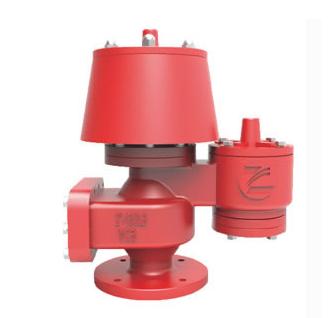 QZF-89 Atmospheric pressure vacuum relief valve with flame arrestor
