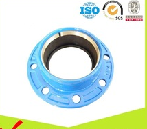 HDPE PVC PIPE Ductile iron Quick flange adaptor