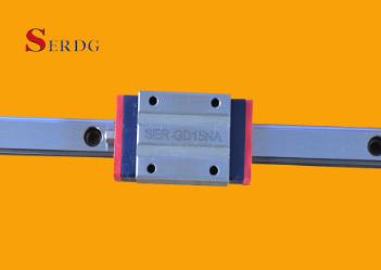 Прямолинейный направляющий рельс SER-GD15N