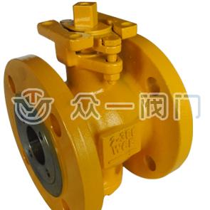 Шаровой клапан регулирования потока типа VF1R
