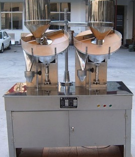 capsule counter-double head-manual packing type