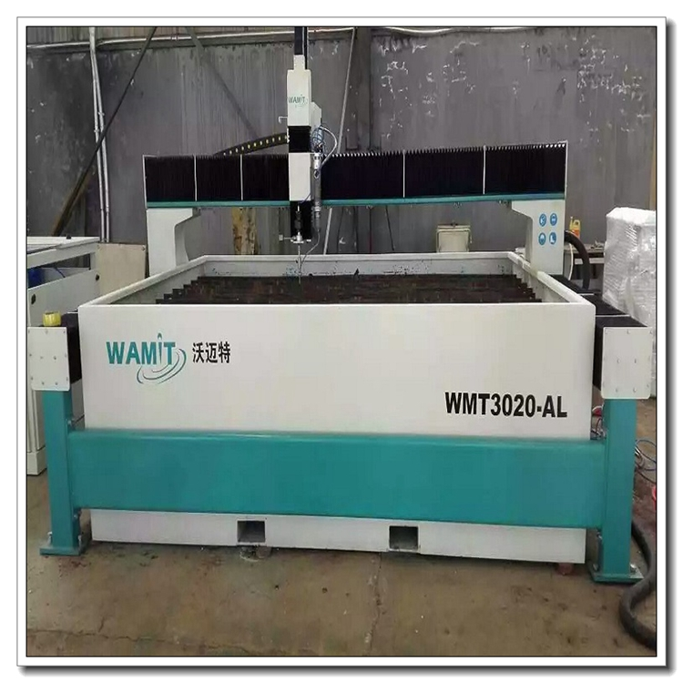 CNC high pressure water jet cutting machine for glass with CE