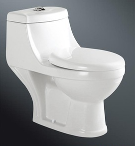 bathroom cheap price one piece toilet