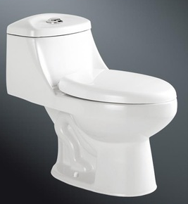 Hot selling fashion design one piece water closet toilet