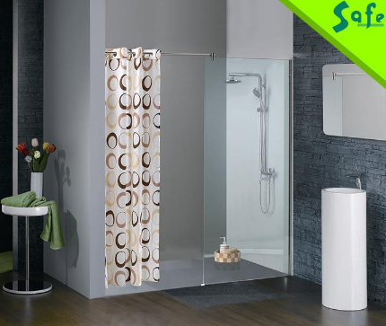 Easy installation walk in shower room frameless complete shower door